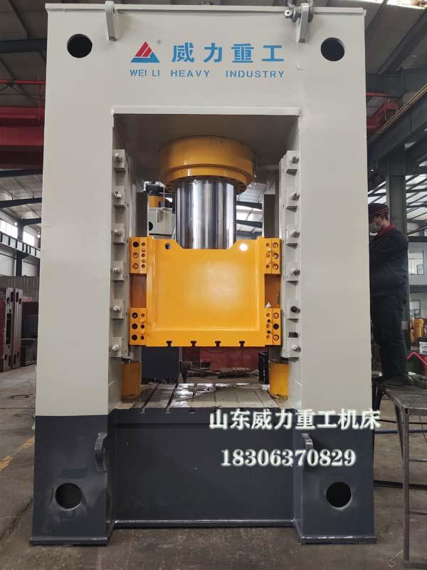 800吨框架式油压机图片