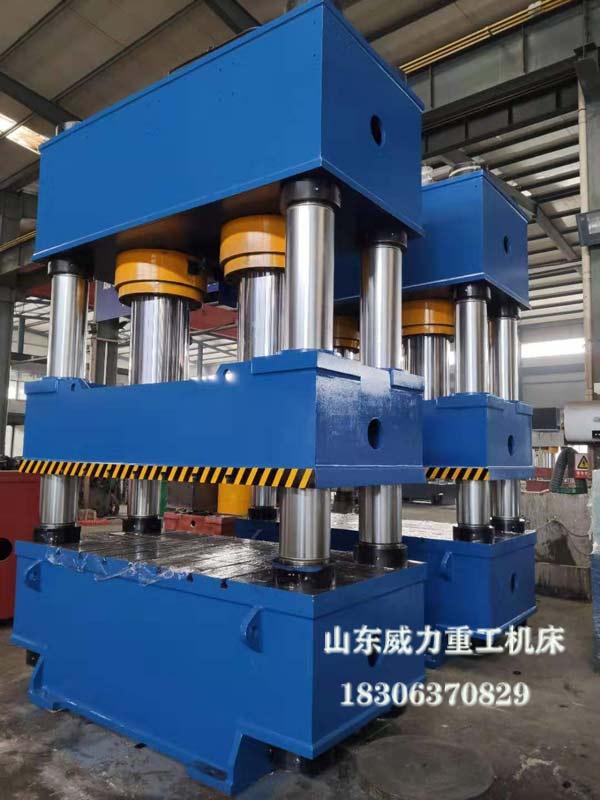 800吨汽车管路成型四柱油压机