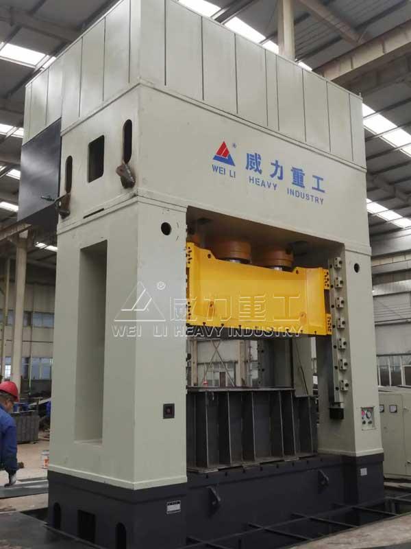 1250吨新能源电池壳模压成型框架式油压机