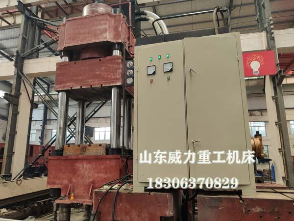 1500吨热锻油压机试机图