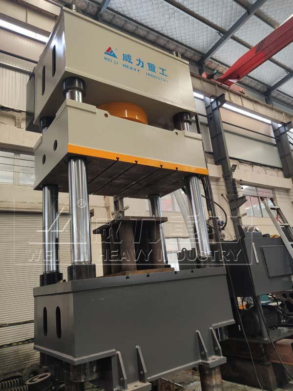 1200吨多维托盘模压成型油压机