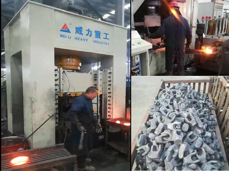 500吨万向节热锻成型油压机