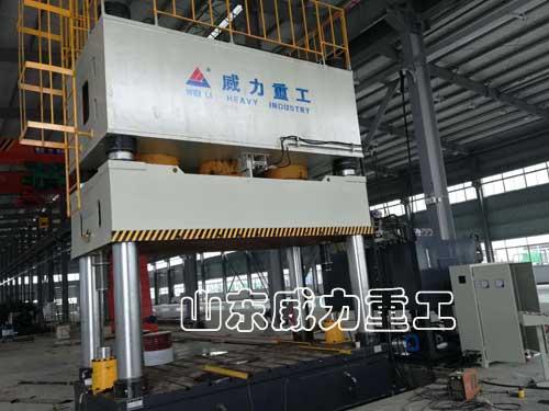 630吨复合漏粪板成型油压机