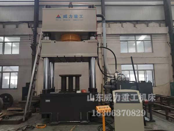 1000吨四柱转托板热压成型油压机