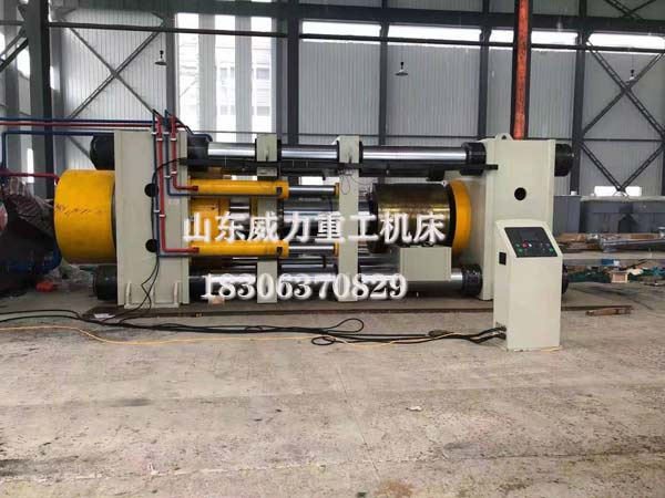 3000吨卧式四柱油压机